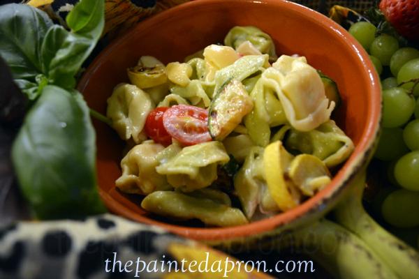chipotle pasta salad thepaintedapron.com 2