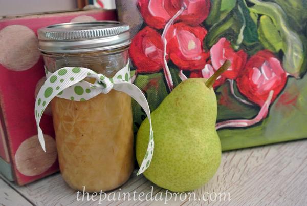 pear vinaigrette thepaintedapron.com