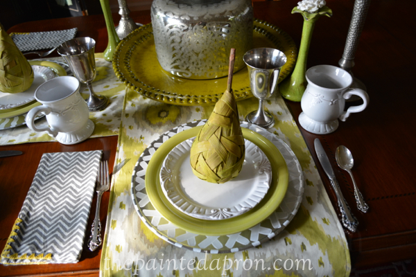 pears and silver thepaintedapron.com
