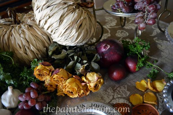 dried roses thepaintedapron.com