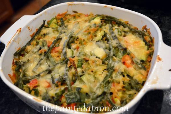 parmesan vegetable orzo thepaintedapron.com