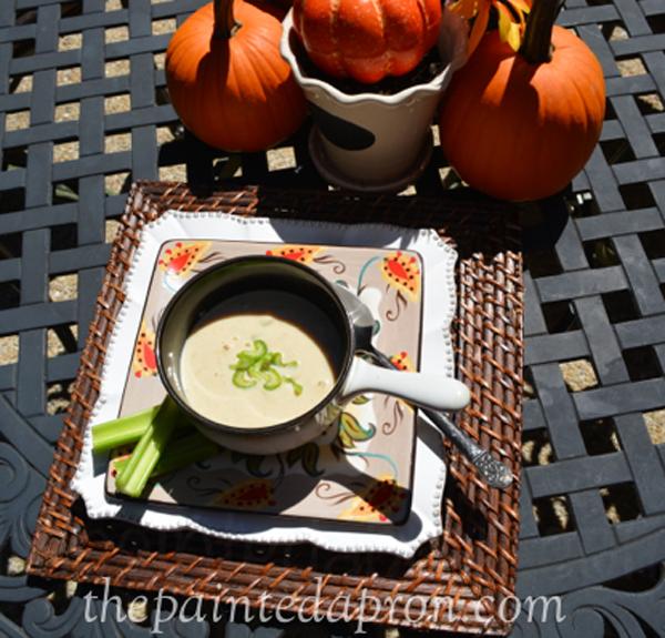 peanut butter soup thepaintedapron.com