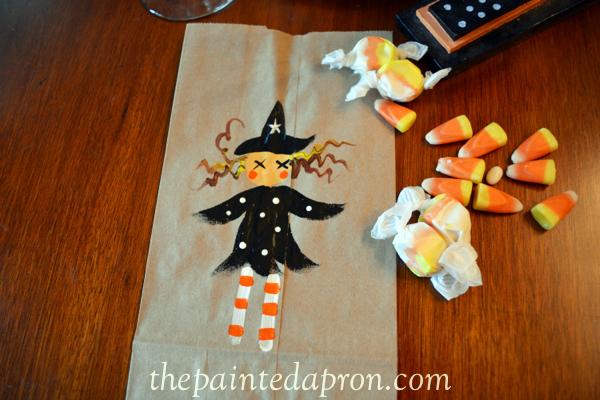witch treat bag thepaintedapron.com