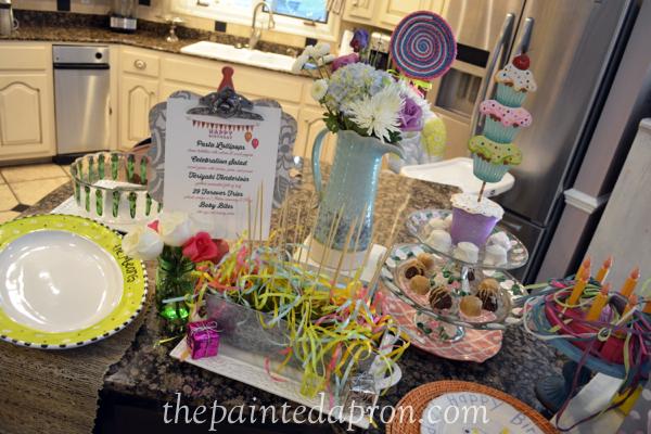 birthday buffet 2 thepaintedapron.com