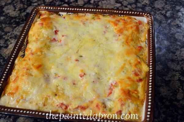 Spanish enchiladas thepaintedapron.com