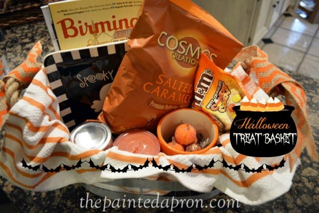 Treat basket thepaintedapron.com