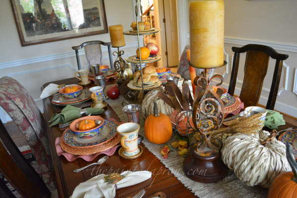 autumn table thepaintedapron.com