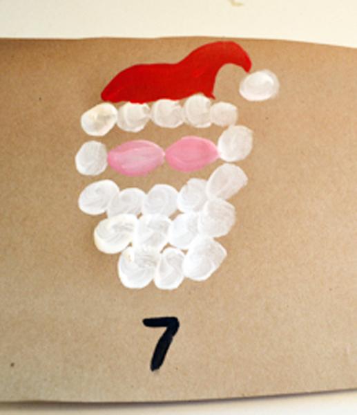 painting Santa 1 thepaintedapron.com