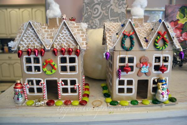 Xmas cottages thepaintedapron.com