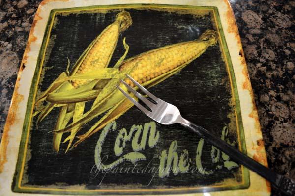 corn plate