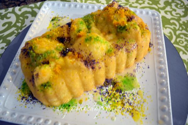 California Dreamin King Cake 2 thepaintedapron.com
