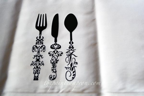 handmade napkins thepaintedapron.com