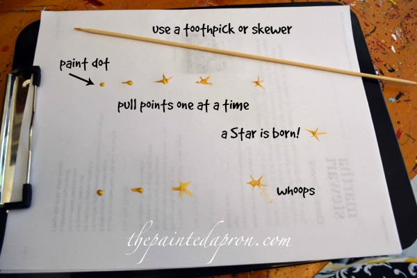 star tutorial thepaintedapron.com