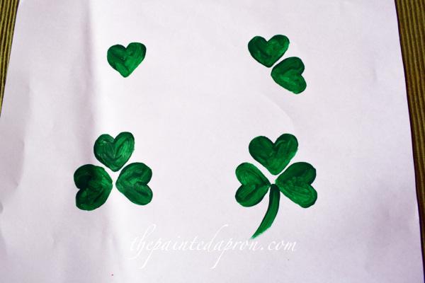 4 leaf clover thepaintedapron.com