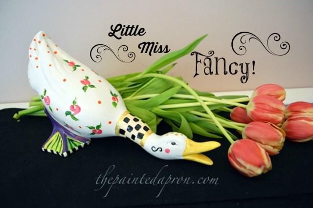 Little Miss Fancy thepaintedapron.com