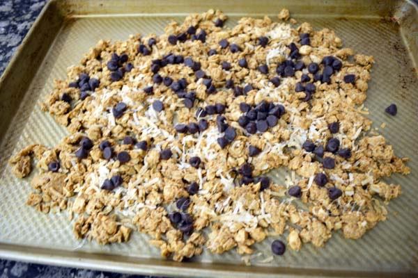 almond joy granola thepaintedapron.com