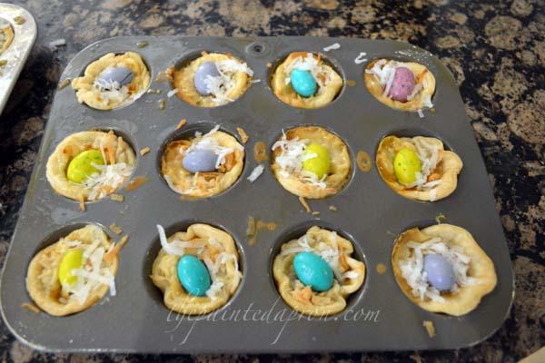 bird nest pies 3 thepaintedapron.com