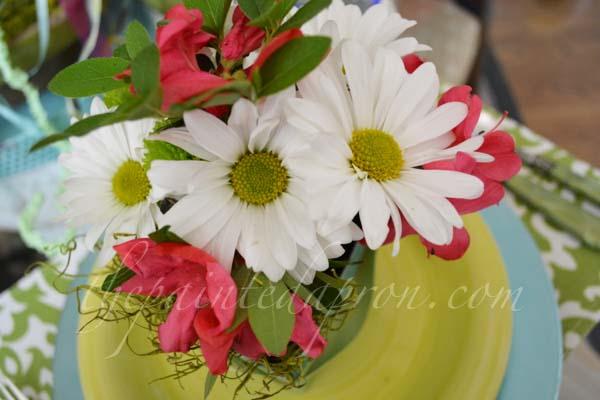 May flowers thepaintedapron.com