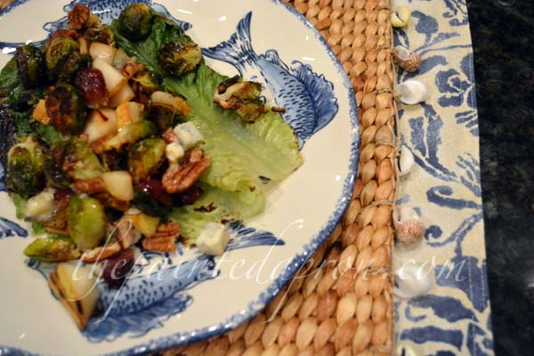 grilled romaine salad 3 thepaintedapron.com