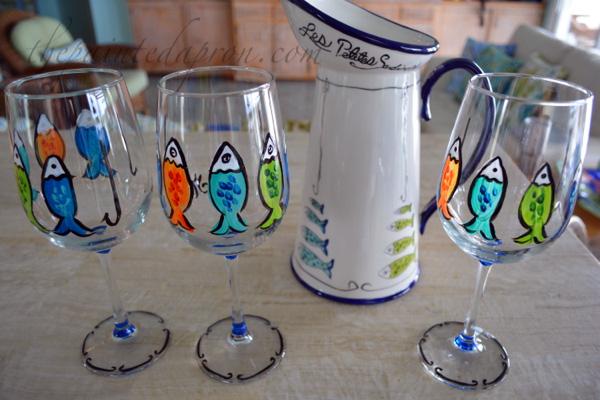 sardine glasses thepaintedapron.com 1
