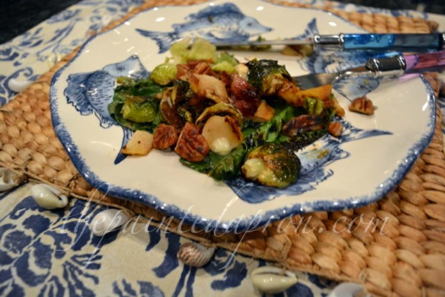 warm summer salad thepaintedapron.com