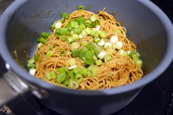 Asian noodles thepaintedapron.com