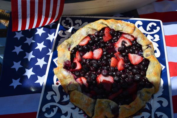 patriotic crostata thepaintedapron.com