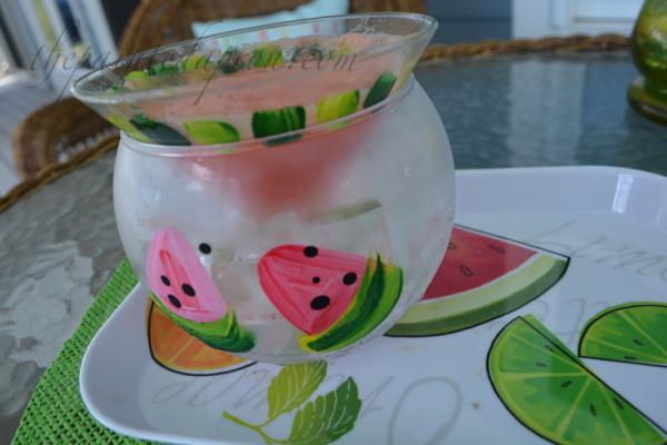watermelon rum thepaintedapron.com