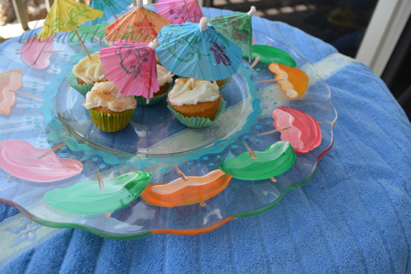 beach bum cupcakes thepaintedapron.com