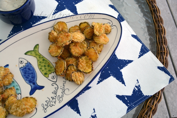fried pickle chips thepaintedapron.com
