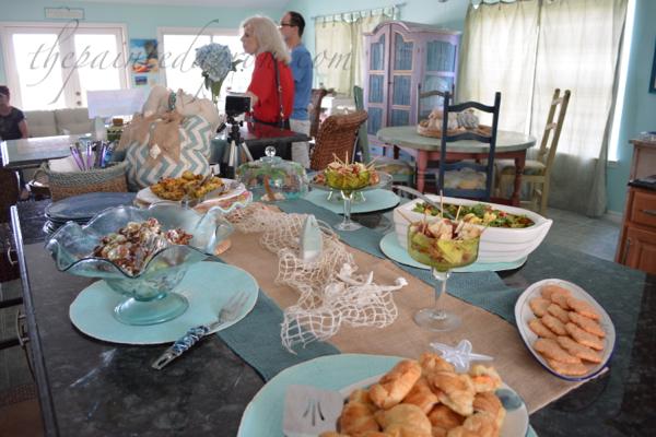 lunch buffet 4 thepaintedapron.com
