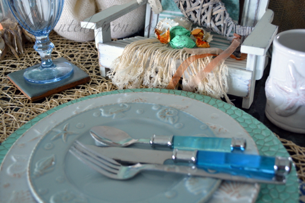 seaside place setting