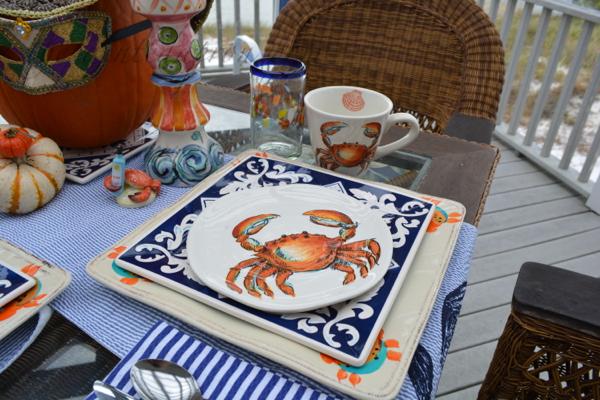 crab setting