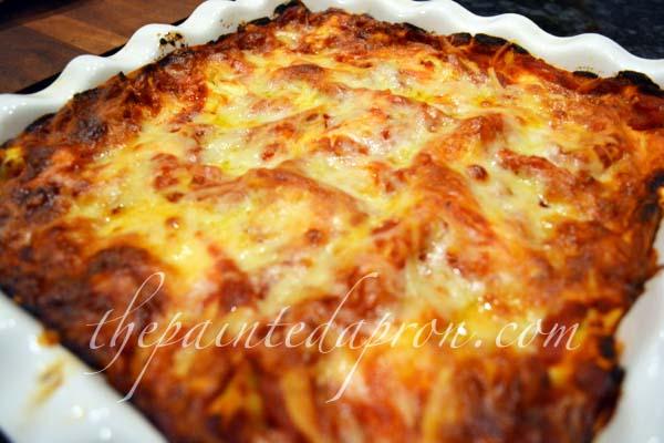 eggplant gruyere prosciutto lasagna