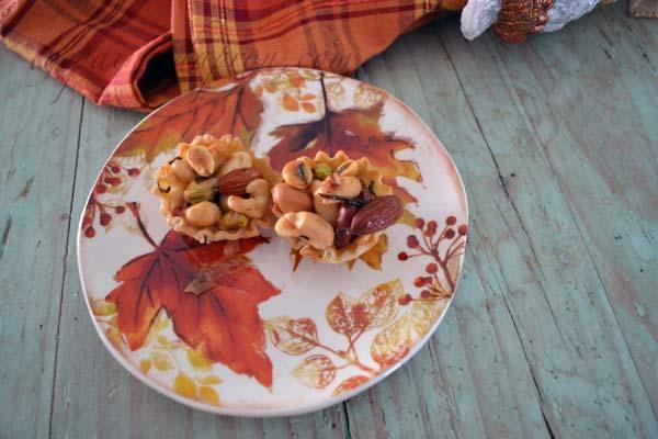 Mixed nut tartlettes