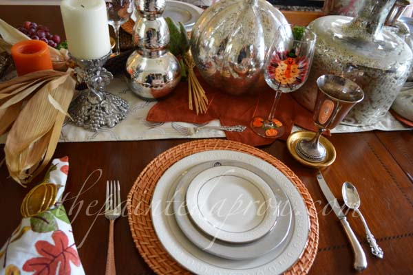 thankful plate stack
