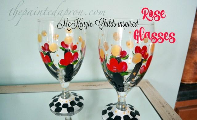 rose glasses