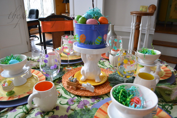 bunnies and eggs
