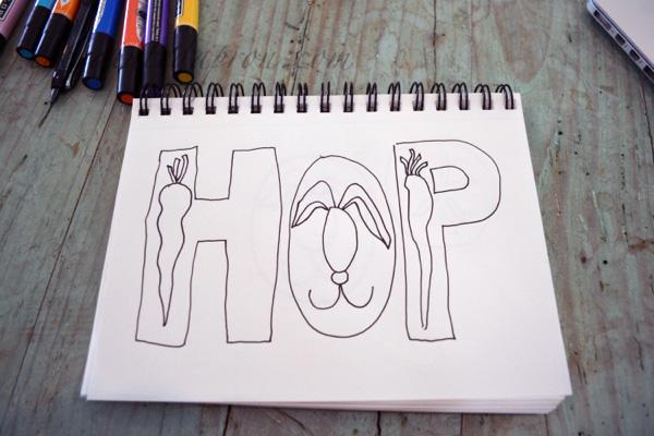 hop sketch