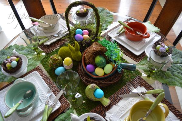 Bird's Nest Soup table