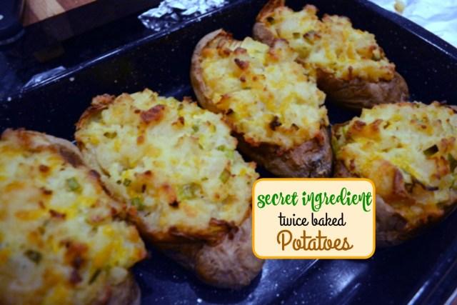 salad dressing stuffed potatoes