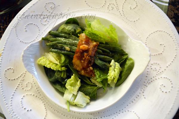 green bean bundle salad