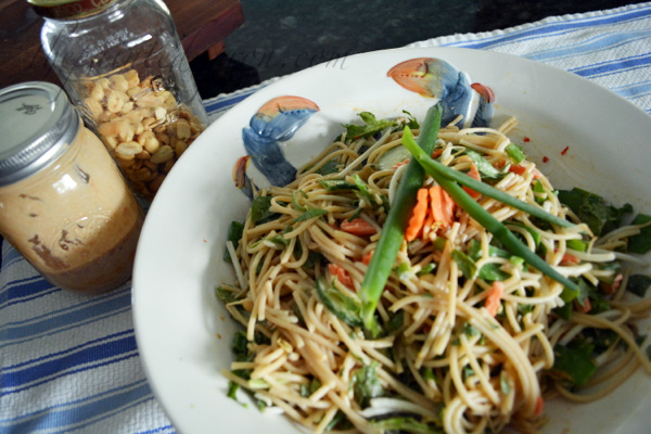 Asian Pasta & Peanut Salad