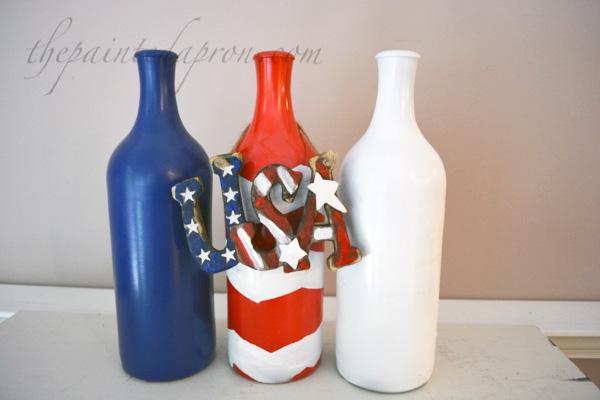 USA bottles