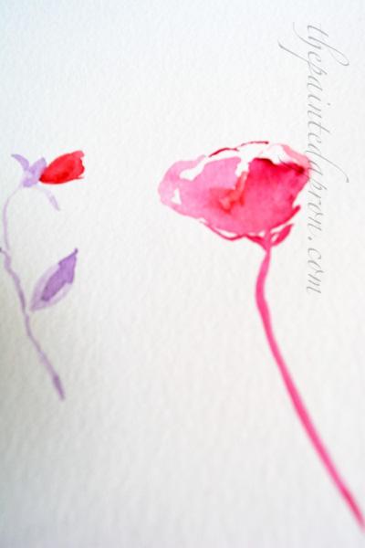 watercolor practice