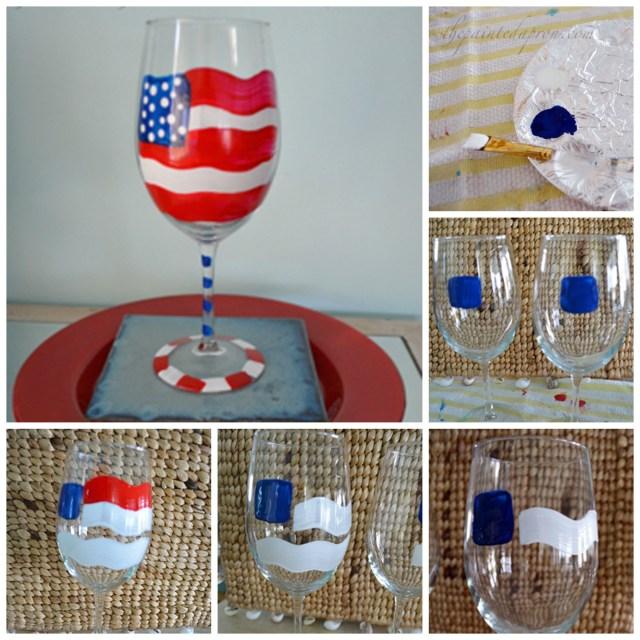 flag glass tutorial