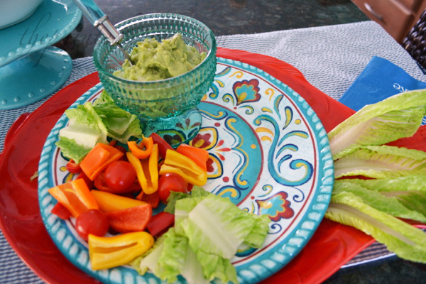 guacamole plate