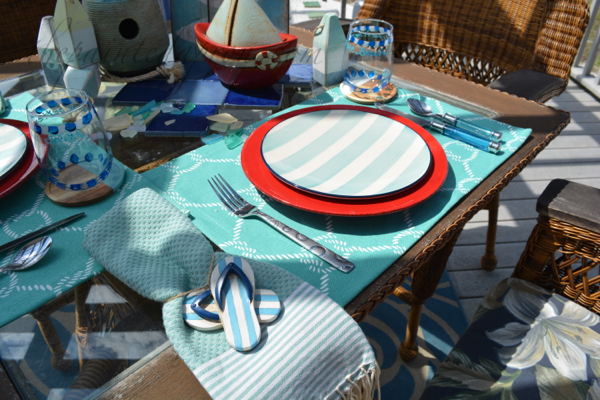 sailing table setting