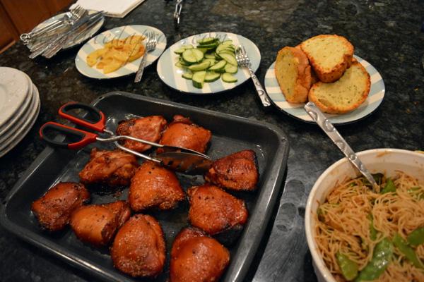 Saturday chicken buffet