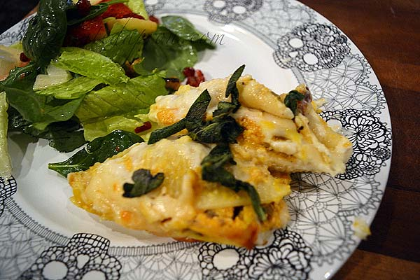 pumpkin-sausage-pasta-shells-with-sage-and-parmesan-cream